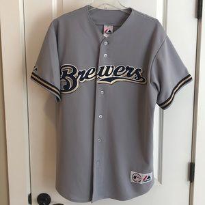 MLB Milwaukee Brewers Corey Hart #1  Jersey